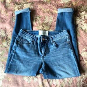 Rachel Roy blue jeans ankle length, size 26